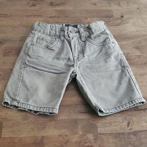 Lucky Brand boys shorts grey sz: 6 [0410]